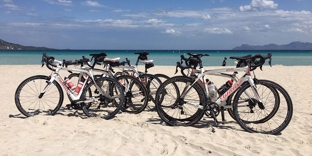 More than 20 years of experience renting bikes in Mallorca