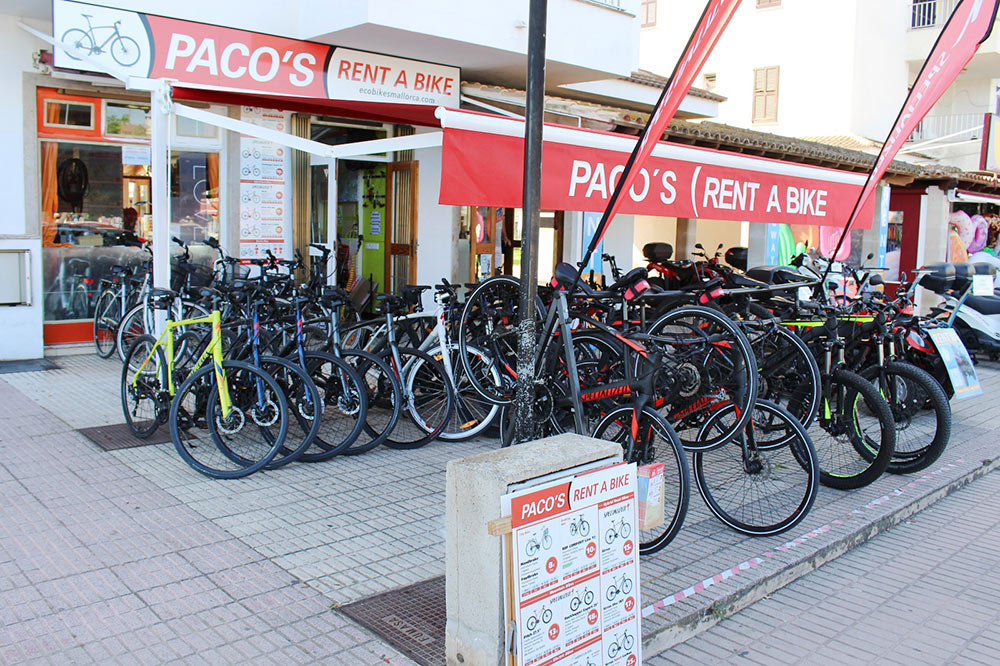 PACO's - Rent a bike in Alcudia